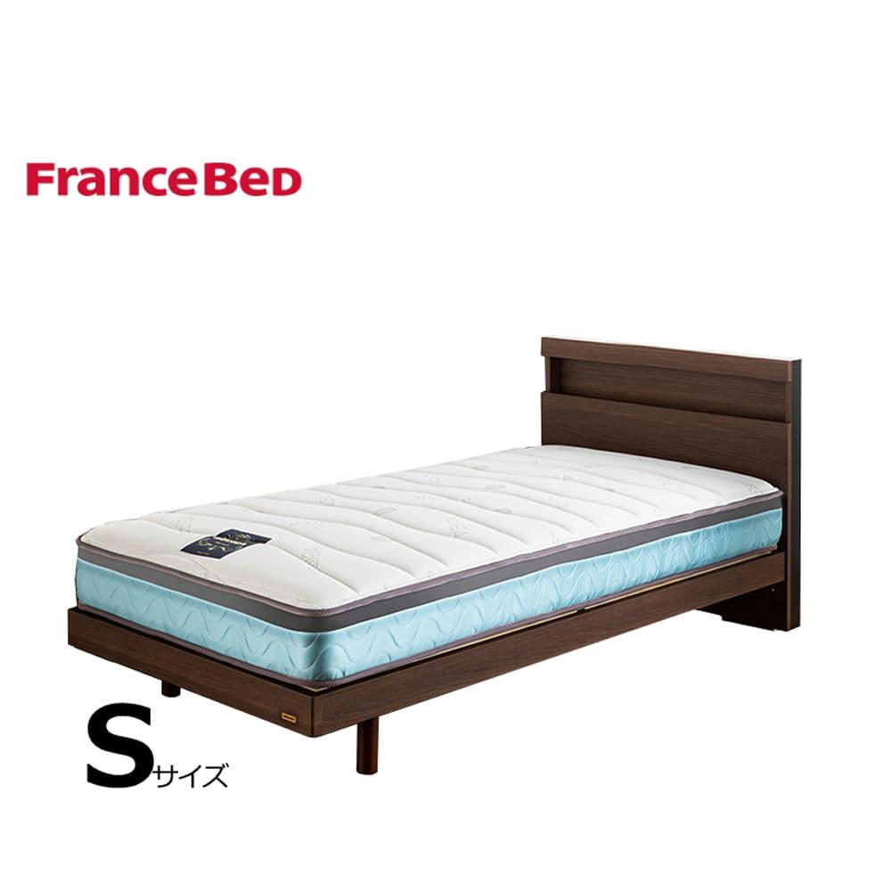 シングルベッド フィノ�Uレッグ/Agブレスクソフト:◆サイドメッシュ採用で高通気のマットレス!