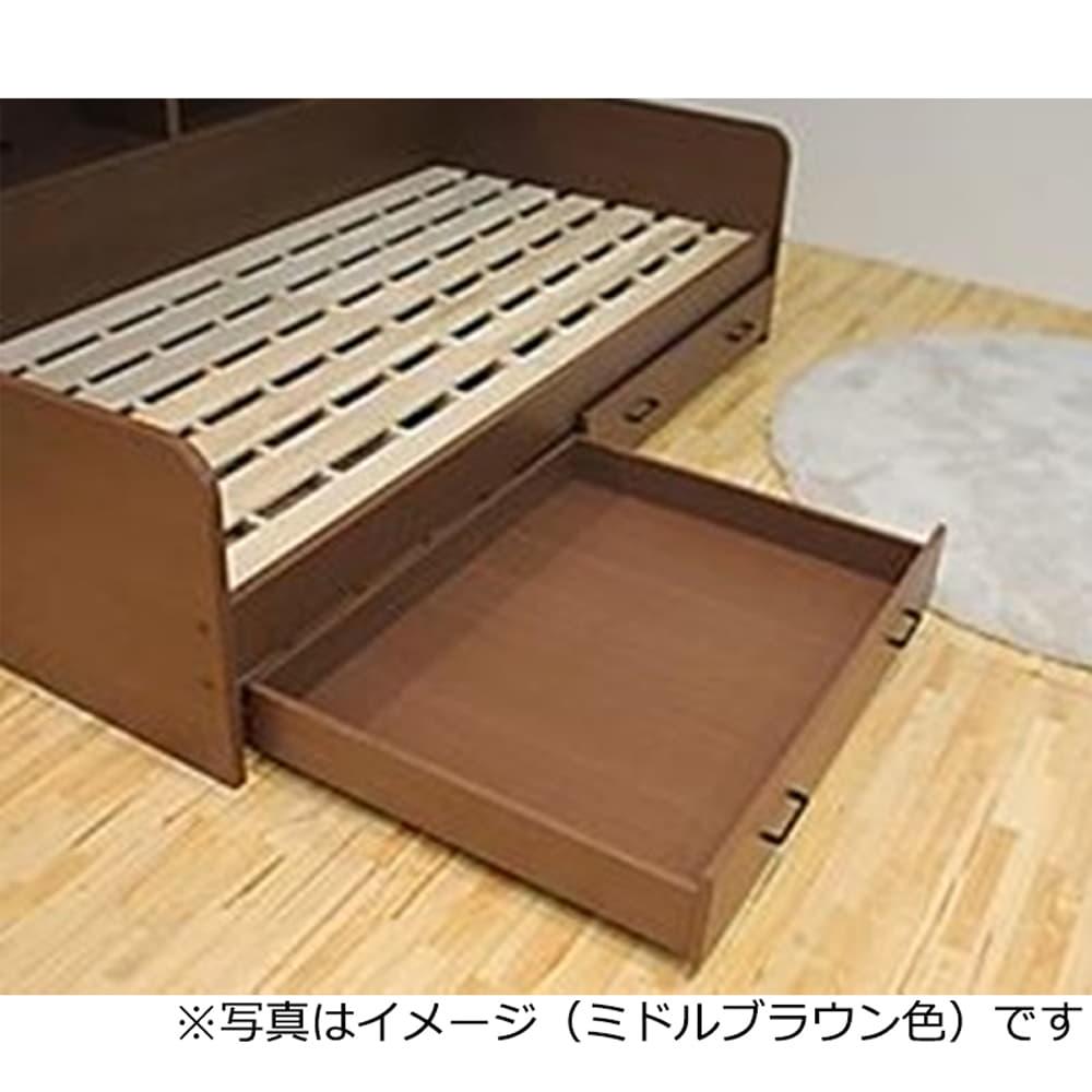 :湿気に強く、通気性のよいすのこ床板を採用しています。
