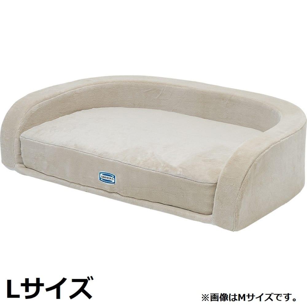 【ネット限定】ドックマットレス 4インチコイルフルセット AI090012 L:シモンズのポケットコイルマットレスの寝心地を愛犬にも