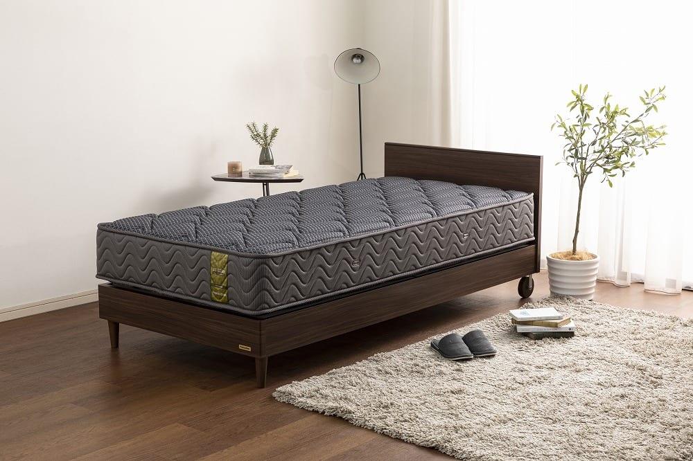 :安心の国産ブランド「フランスベッド」のマットレス※フレームは別売りです。