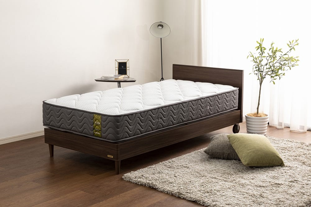 :安心の国産ブランド「フランスベッド」のマットレス ※フレームは別売りです。
