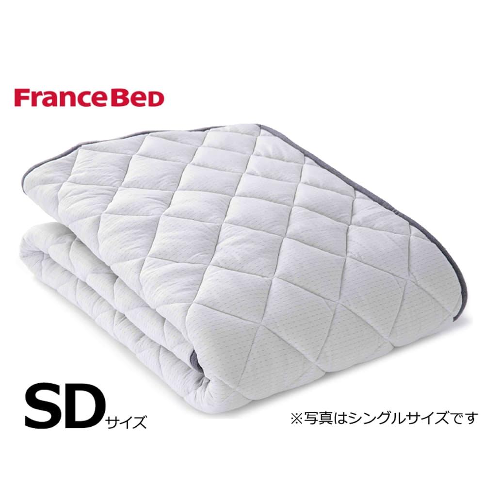セミダブルベッドパッド LTフィット羊毛ベッドパッド ミディアムソフト:ご家庭の洗濯機で洗えます
