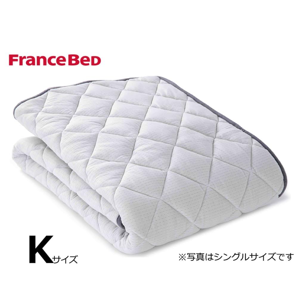 キングベッドパッド LTフィット羊毛ベッドパッド ミディアムソフト:ご家庭の洗濯機で洗えます
