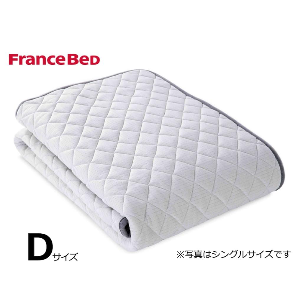 ダブルベッドパッド LTフィット羊毛ベッドパッド ハード:ご家庭の洗濯機で洗えます