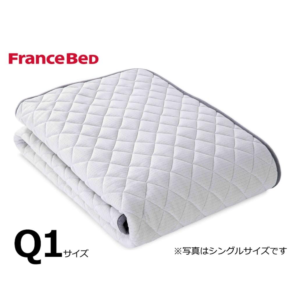 クィーン1ベッドパッド LTフィット羊毛ベッドパッド ハード:ご家庭の洗濯機で洗えます