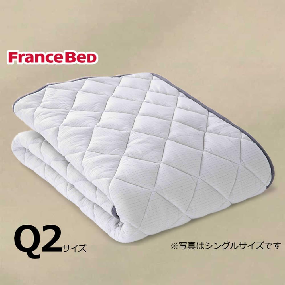 クィーン2寝装品3点セット LTフィット羊毛ミディアムソフトSTD3点セット ベージュ:ご家庭の洗濯機で洗えます
