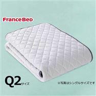クィーン2寝装品3点セット LTフィット羊毛ハードSTD3点セット ブルー
