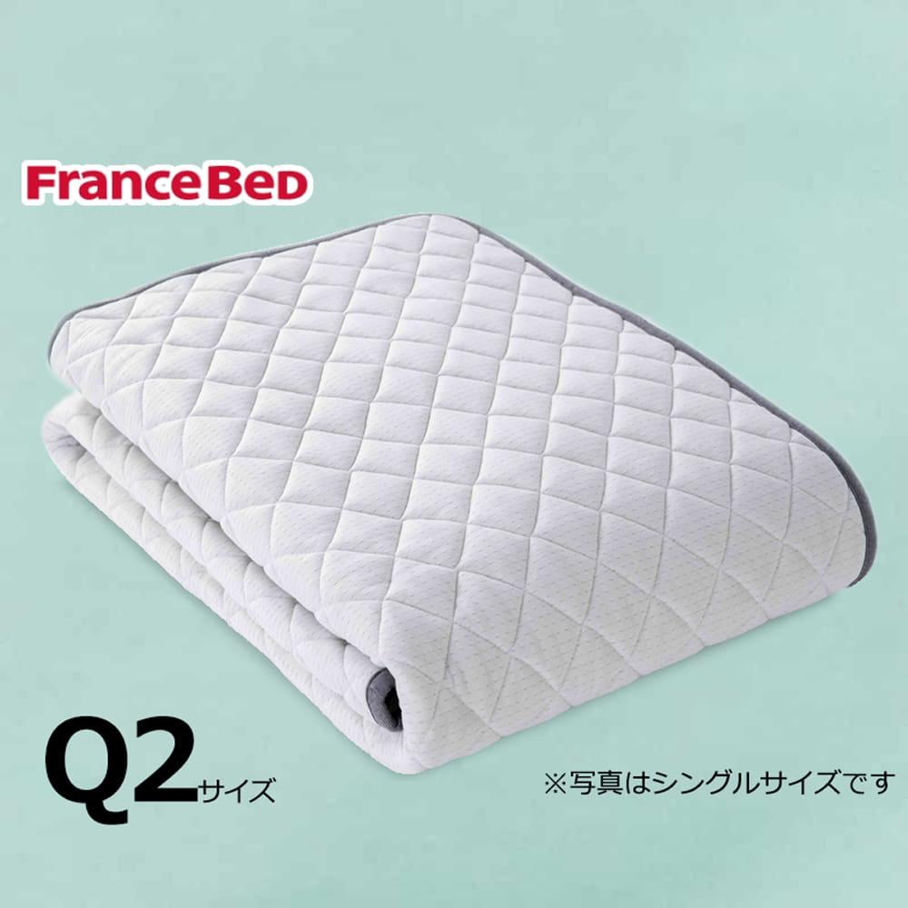 クィーン2寝装品3点セット LTフィット羊毛ハードSTD3点セット ブルー:ご家庭の洗濯機で洗えます