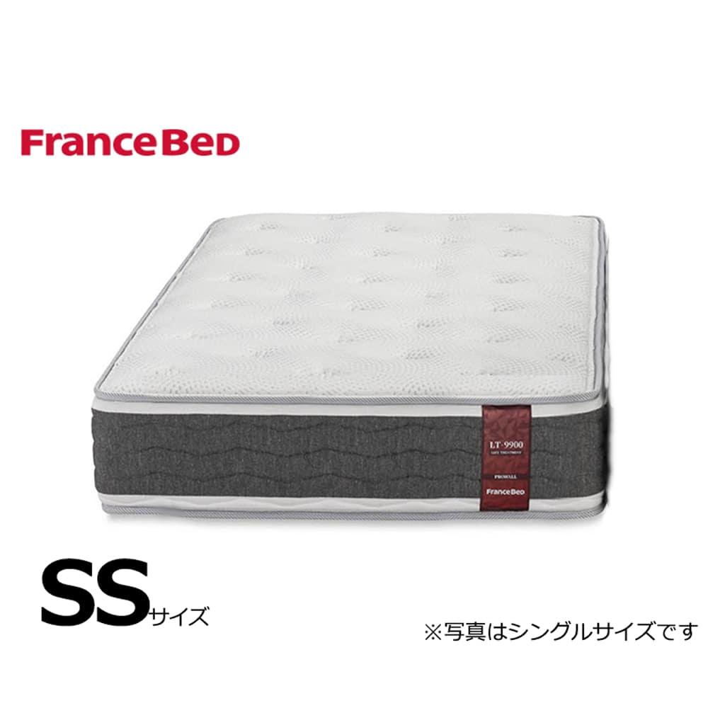 フランスベッド セミシングルマットレス LT−9900PW ミディアムソフト:側地に銀イオンによる除菌機能付き。