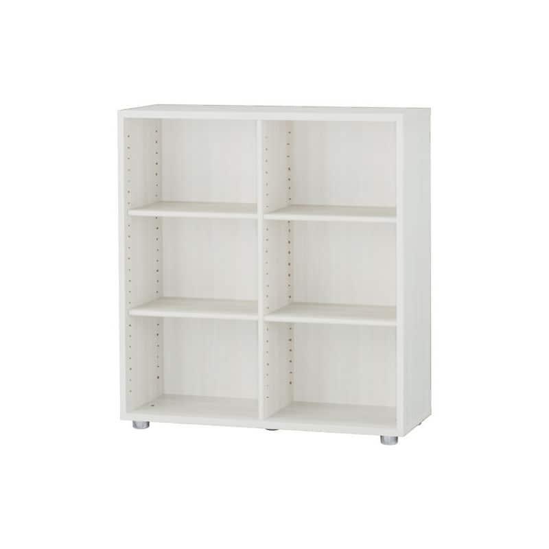 ニューワークスタジオ オープン書棚 DD−B802 WN:発売から15年、進化し続けるロングセラー商品