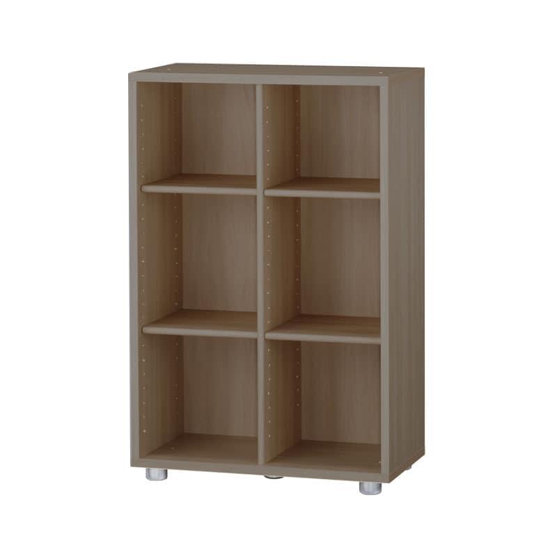 ニューワークスタジオ オープン書棚 DD−B602−MR:発売から15年、進化し続けるロングセラー商品