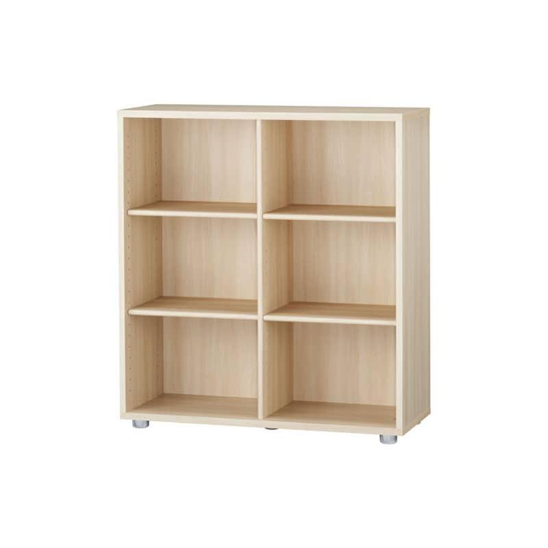 ニューワークスタジオ オープン書棚 DD−B802−NL:発売から15年、進化し続けるロングセラー商品