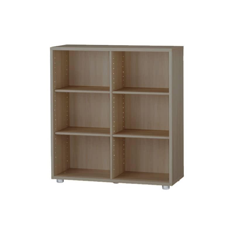 ニューワークスタジオ オープン書棚 DD−B802−MR:発売から15年、進化し続けるロングセラー商品