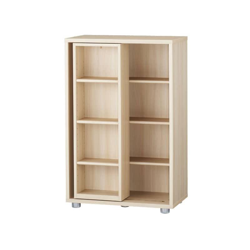 ニューワークスタジオ スライド書棚 DD−B612−NL:発売から15年、進化し続けるロングセラー商品