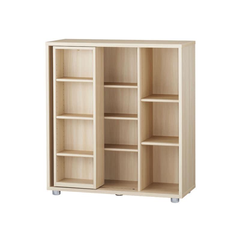 ニューワークスタジオ スライド書棚 DD−B812−NL:発売から15年、進化し続けるロングセラー商品
