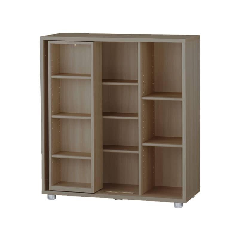 ニューワークスタジオ スライド書棚 DD−B812−MR:発売から15年、進化し続けるロングセラー商品