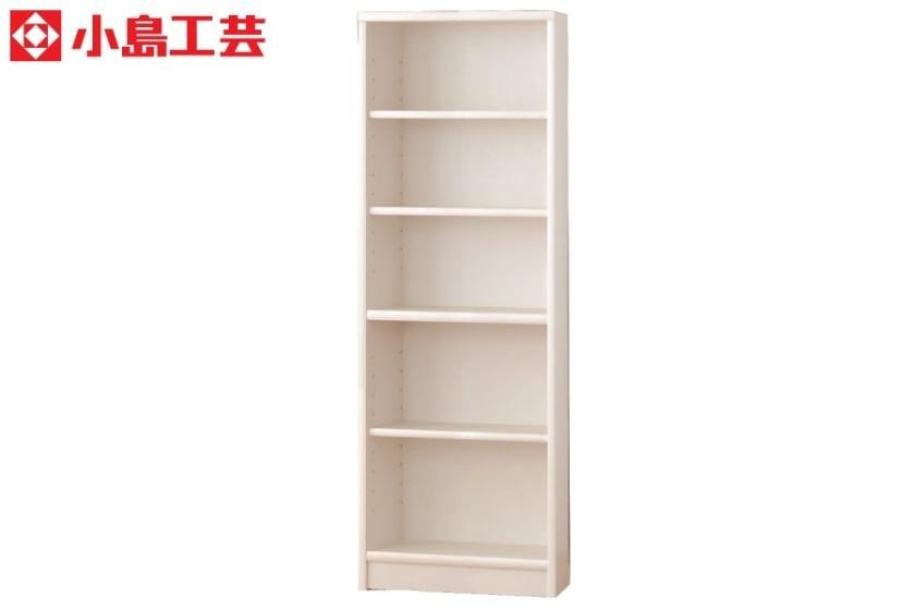 小島工芸 書棚 アコード60H(ホワイト)