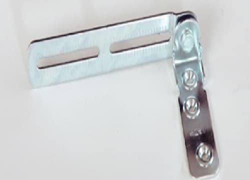 小島工芸 書棚 アコード120H(ホワイト):転倒防止補助金具