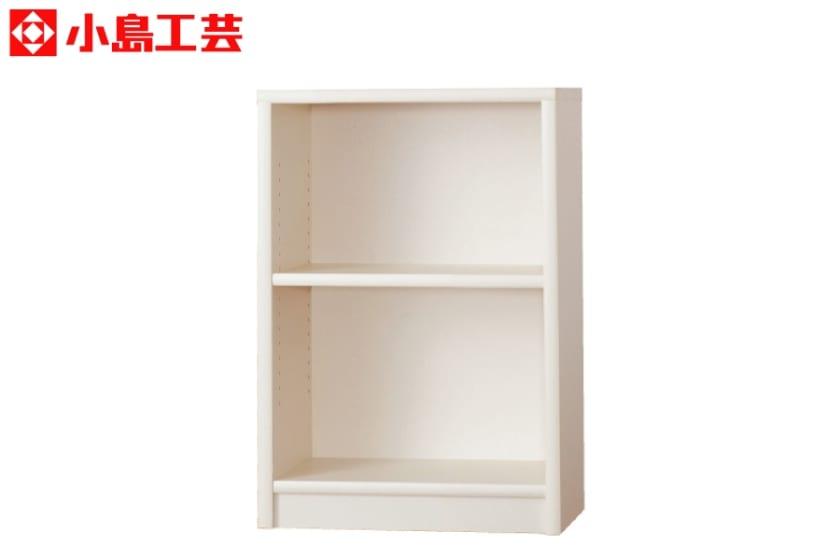 小島工芸 書棚 アコード60L(ホワイト):豊富なサイズバリエーション
