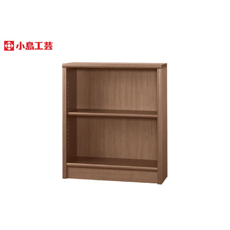 小島工芸 書棚 アコード75L(ウォールモカ)