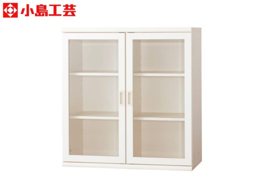 小島工芸 書棚 オファー90開戸(ホワイト):F☆☆☆☆相当の資材を使用した書棚