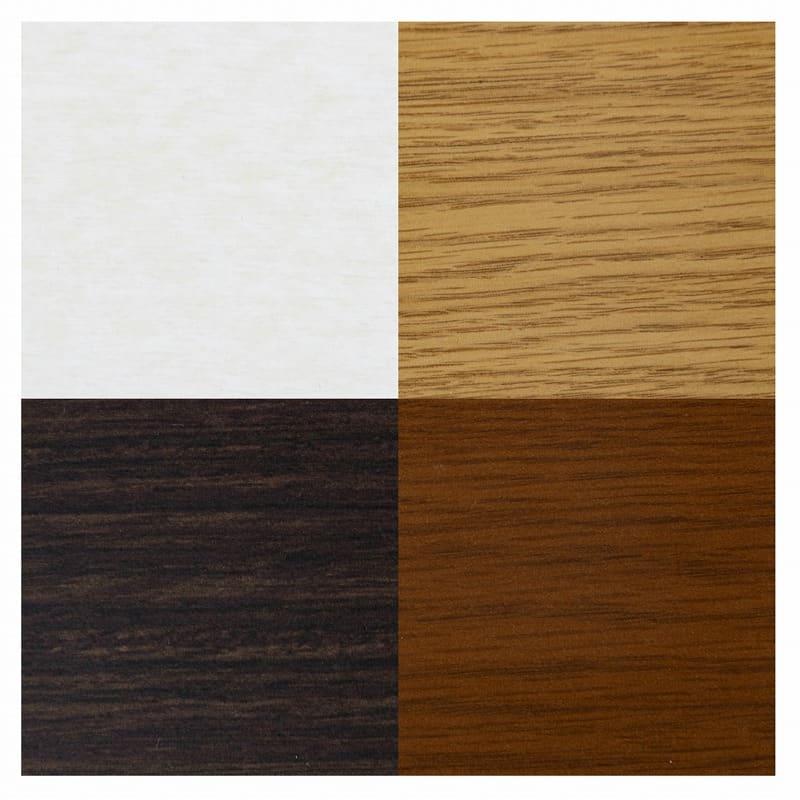 小島工芸 書棚 オファー120引戸(ホワイト):選べる4色