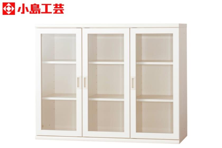 小島工芸 書棚 オファー120開戸(ホワイト):F☆☆☆☆相当の資材を使用した書棚