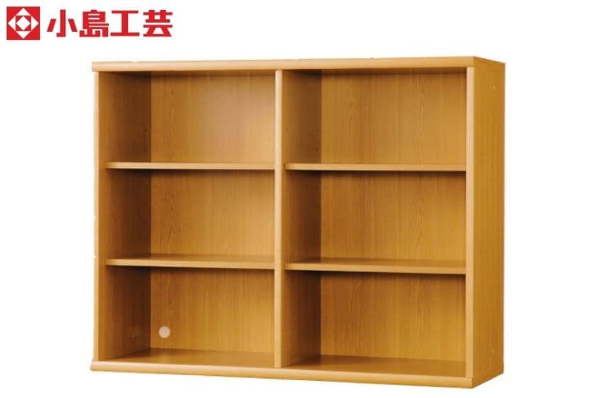 小島工芸 書棚 オファー120オープン(ライト)