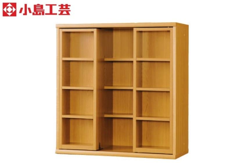 小島工芸 書棚 オファー90スライドオープン(ライト):F☆☆☆☆相当の資材を使用した書棚