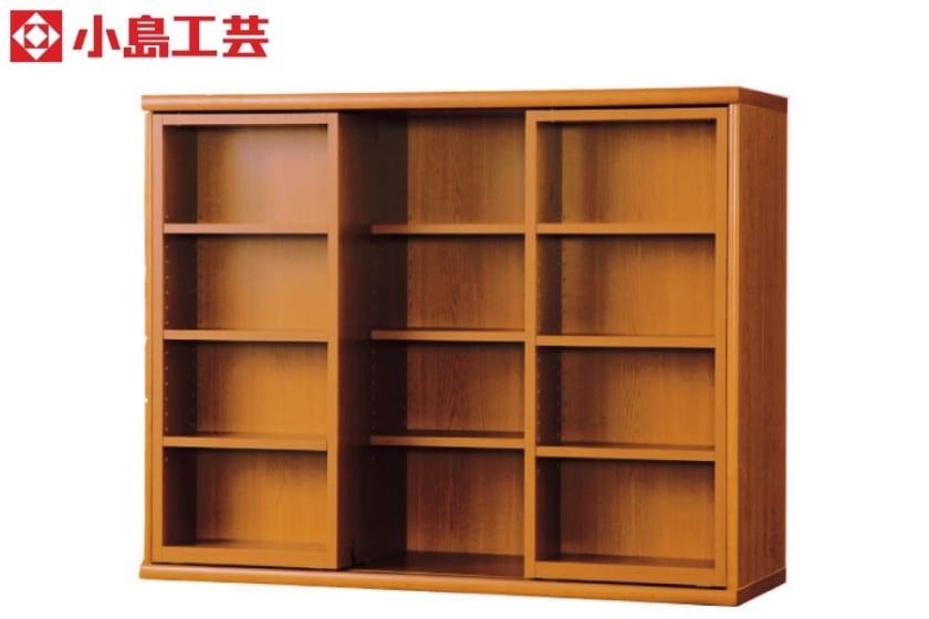 小島工芸 書棚 オファー120スライドオープン(ミディアム):F☆☆☆☆相当の資材を使用した書棚