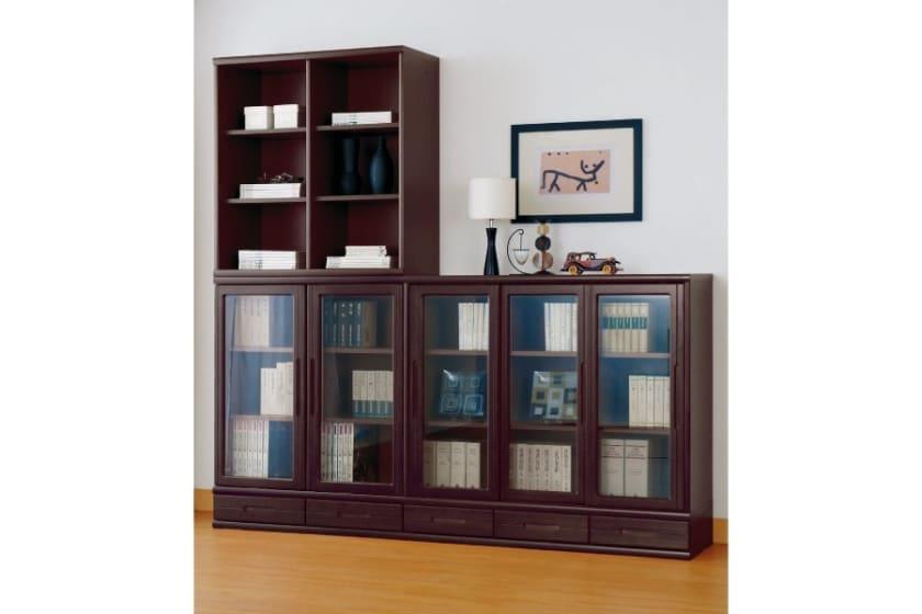 小島工芸 書棚 オファー120スライドオープン(ミディアム)