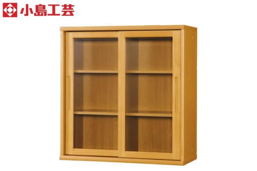 小島工芸 書棚 オファー90引戸(ライト):F☆☆☆☆相当の資材を使用した書棚