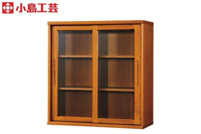 小島工芸 書棚 オファー90引戸(ミディアム):F☆☆☆☆相当の資材を使用した書棚