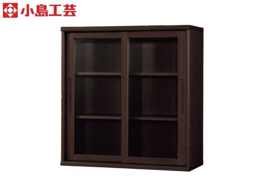 小島工芸 書棚 オファー90引戸(ウェンジ):F☆☆☆☆相当の資材を使用した書棚