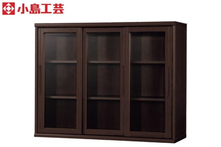 小島工芸 書棚 オファー120引戸(ウェンジ):F☆☆☆☆相当の資材を使用した書棚