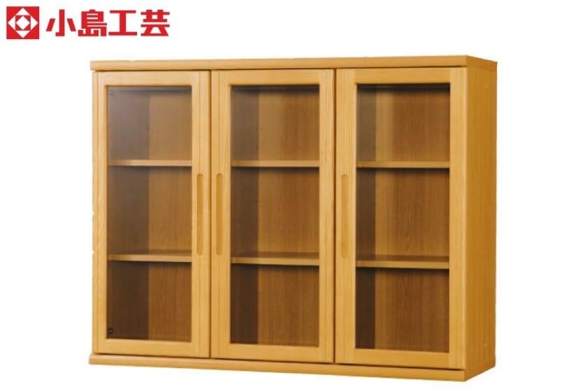 小島工芸 書棚 オファー120開戸(ライト):F☆☆☆☆相当の資材を使用した書棚