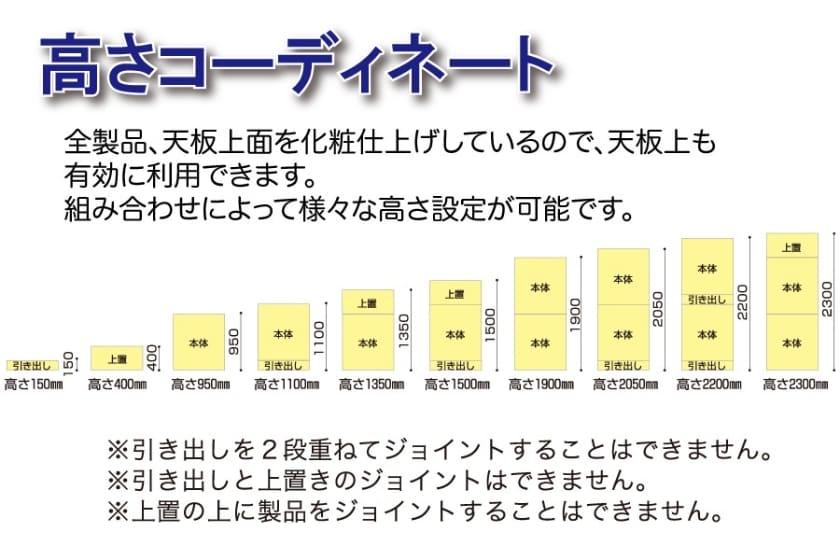 小島工芸 引出 オファー90(ライト)