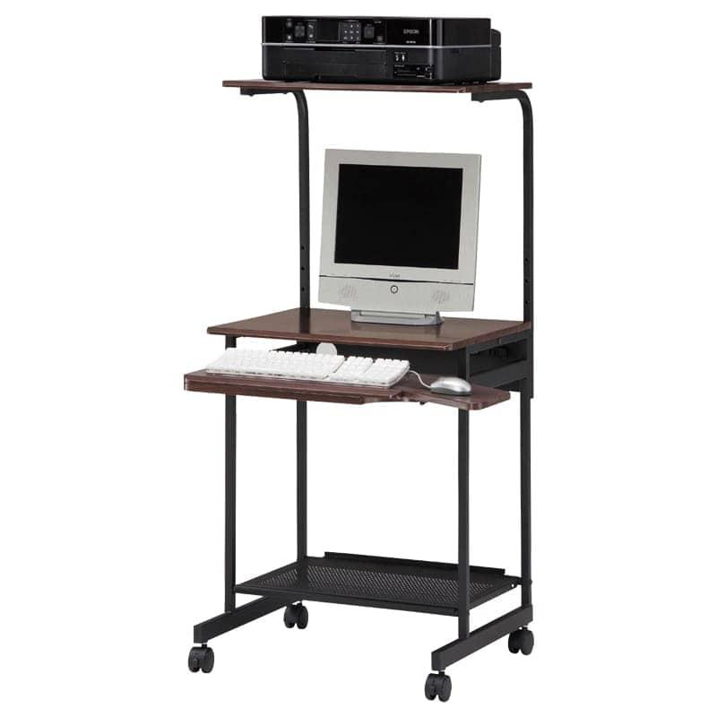 パソコンデスク パソプリ PPR-60H DK:パソコンデスク ※小物類はイメージです