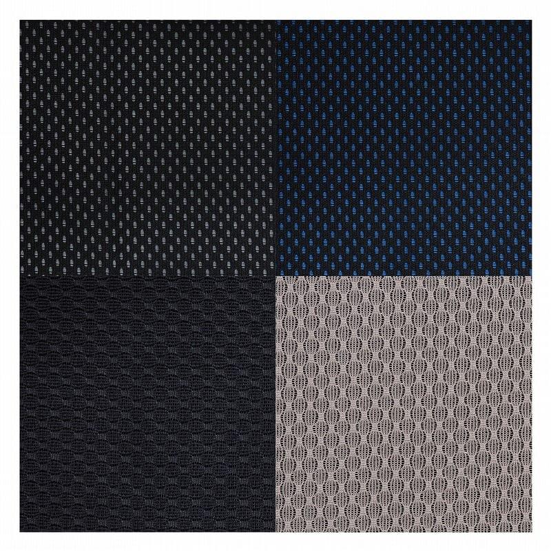 デスクチェア デュオレスト DR−7501SP(ニットブルー):選べる4色