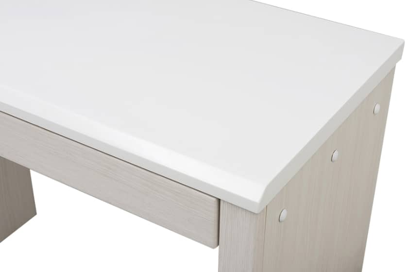 デスク コンビ 90×45(ホワイト)