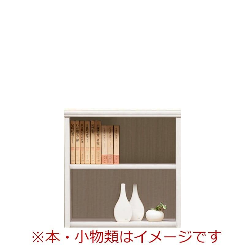 オープン書棚 SOK72 幅60×高さ60 ホワイト