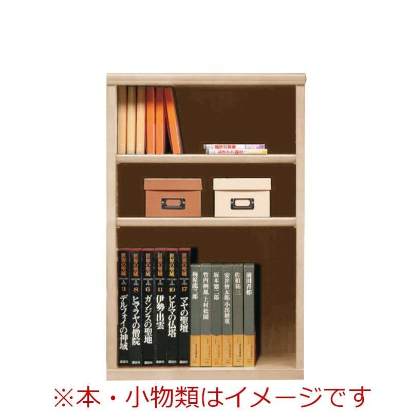 オープン書棚 SOK72 幅60×高さ90 ナチュナル