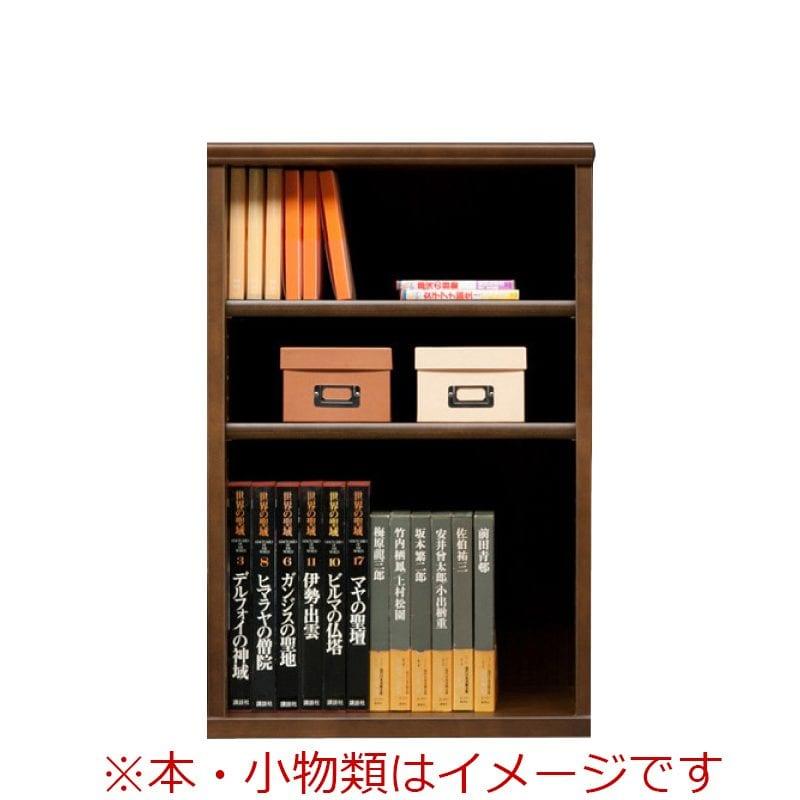 オープン書棚 SOK72 幅60×高さ90 ブラウン