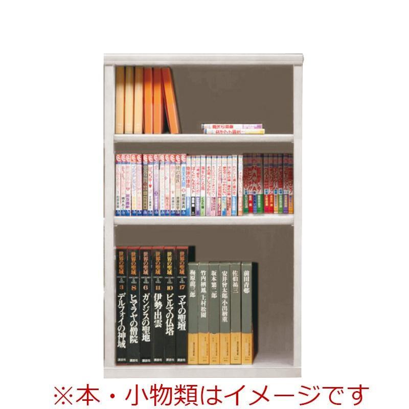オープン書棚 SOK72 幅60×高さ100 ホワイト