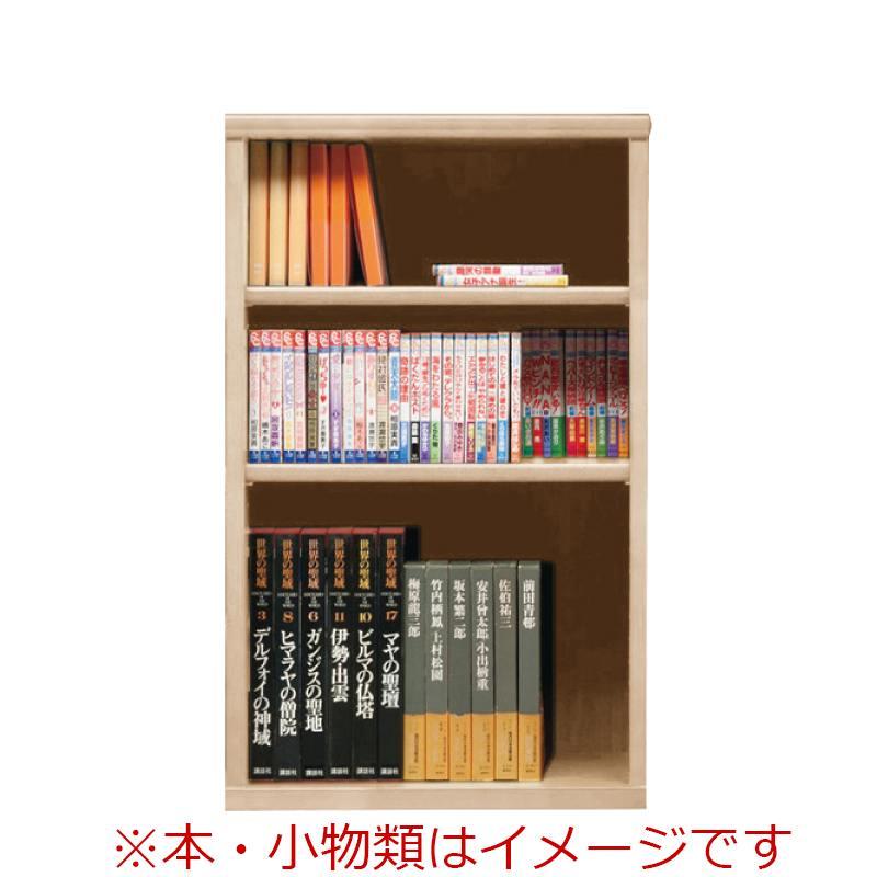 オープン書棚 SOK72 幅60×高さ100 ナチュナル