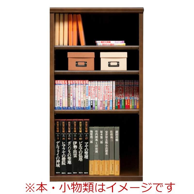 オープン書棚 SOK72 幅60×高さ110 ブラウン