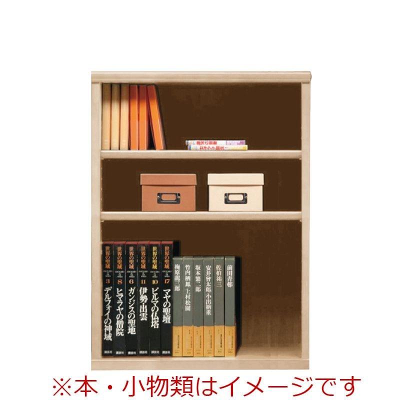 オープン書棚 SOK72 幅70×高さ90 ナチュナル