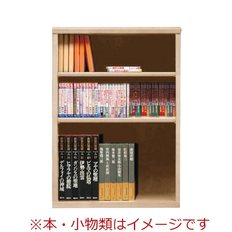 オープン書棚 SOK72 幅70×高さ100 ナチュナル