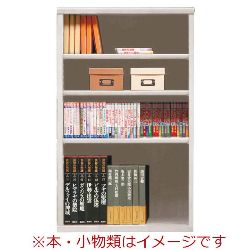 オープン書棚 SOK72 幅70×高さ110 ホワイト