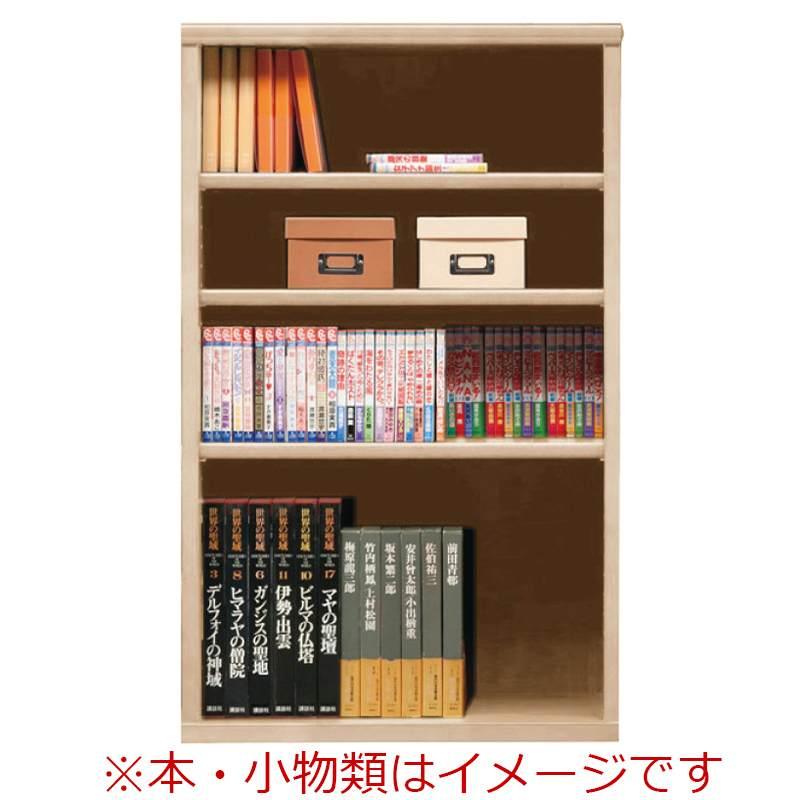 オープン書棚 SOK72 幅70×高さ110 ナチュナル